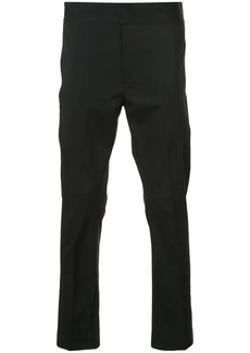 Ann Demeulemeester high-waisted flat front trousers