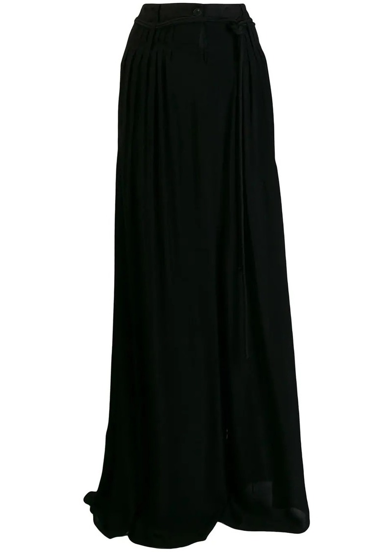 Ann Demeulemeester high waisted palazzo pants