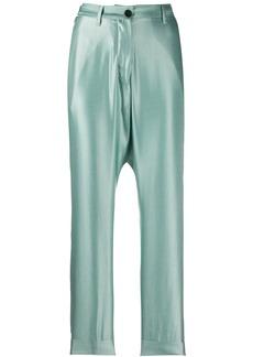 Ann Demeulemeester high-waisted straight leg trousers
