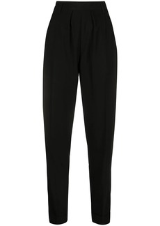 Ann Demeulemeester high-waisted tapered-leg trousers