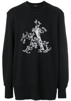 Ann Demeulemeester initial print sweatshirt