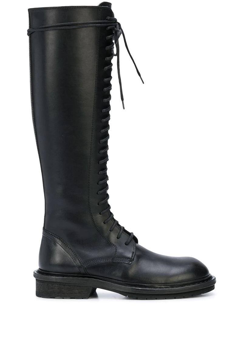 Ann Demeulemeester knee-high boots