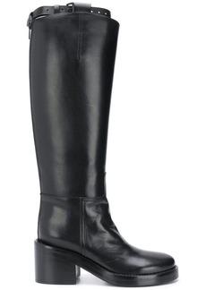 Ann Demeulemeester knee length boots