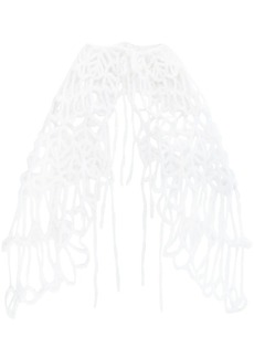 Ann Demeulemeester knitted shawl
