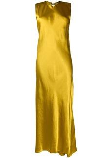 Ann Demeulemeester long satin dress
