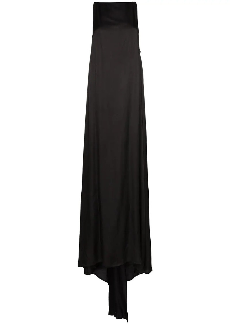 Ann Demeulemeester long semi-sheer gown