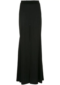 Ann Demeulemeester long slit detail skirt