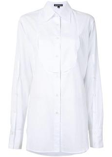 Ann Demeulemeester longline tuxedo shirt