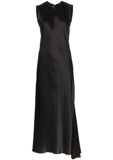Ann Demeulemeester Magya asymmetric midi dress