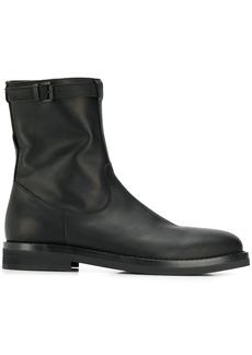 Ann Demeulemeester matte ankle boots