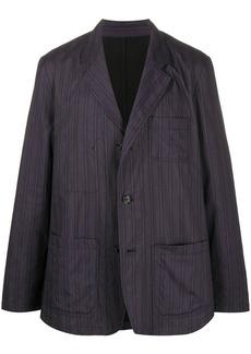 Ann Demeulemeester multi-stripe blazer