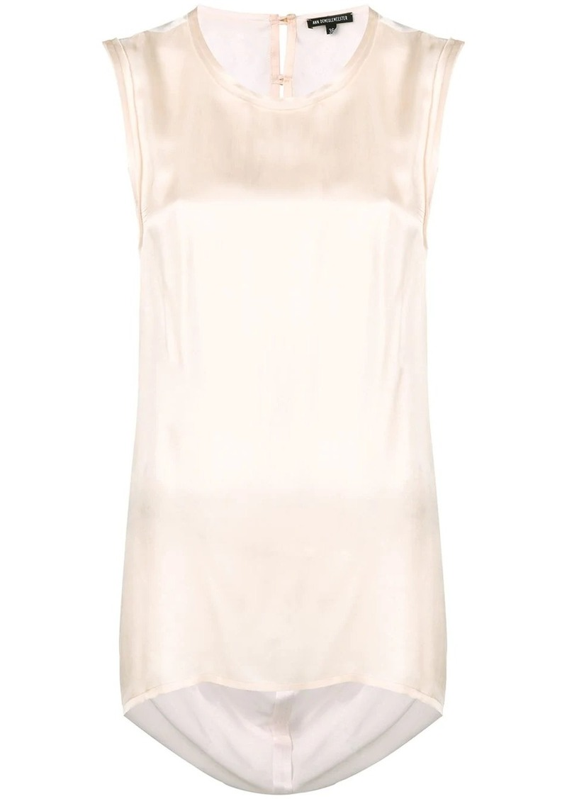 Ann Demeulemeester open back top