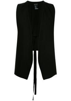 Ann Demeulemeester open-front waistcoat