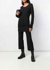 Ann Demeulemeester oversized knitted top