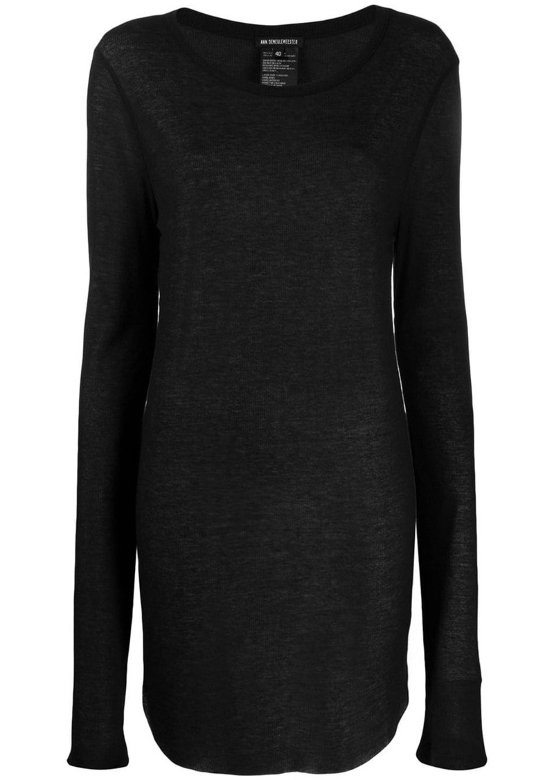 Ann Demeulemeester oversized knitted top