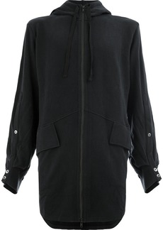 Ann Demeulemeester oversized zip-up hoodie