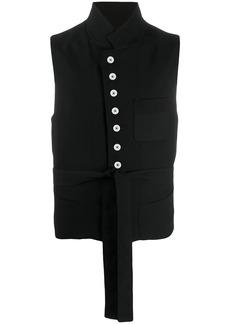 Ann Demeulemeester Palomar high-neck waistcoat
