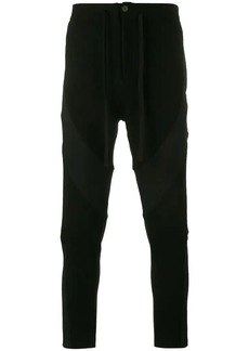 Ann Demeulemeester panelled tailored trousers