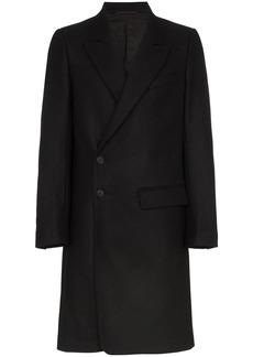 Ann Demeulemeester peaked-lapel single-breasted coat