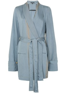 Ann Demeulemeester Peignoir robe jacket
