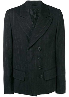 Ann Demeulemeester pinstripe fitted blazer