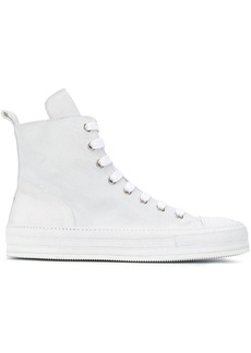 Ann Demeulemeester zipped high-top sneakers