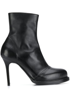 Ann Demeulemeester platform ankle boots