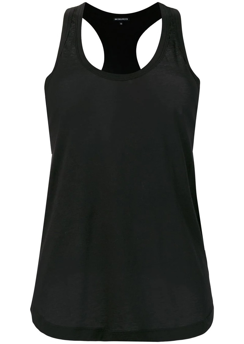Ann Demeulemeester pleated detail vest