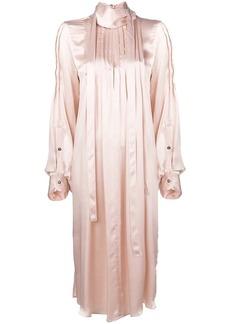 Ann Demeulemeester pleated midi dress