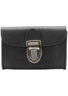 Ann Demeulemeester push-lock purse