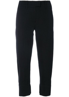 Ann Demeulemeester rear pocket cropped trousers