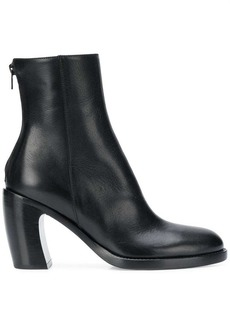 Ann Demeulemeester rear-zip ankle boots