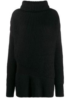 Ann Demeulemeester ribbed knit jumper