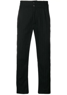 Ann Demeulemeester ribbed trousers