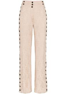 Ann Demeulemeester rosalia old rose trousers