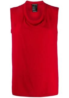 Ann Demeulemeester round neck tank top