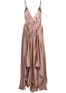 Ann Demeulemeester draped camisole dress