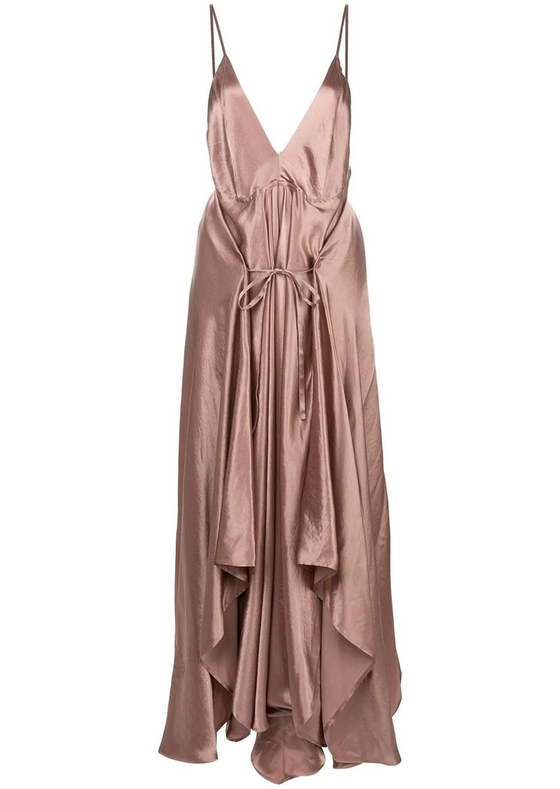 Ann Demeulemeester draped camisole dress