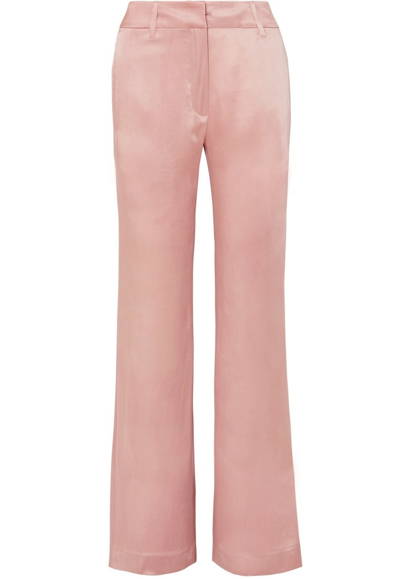 Ann Demeulemeester Satin Flared Pants