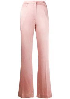 Ann Demeulemeester satin wide-leg trousers