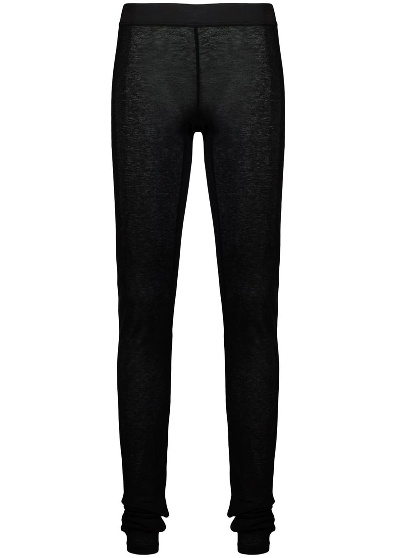 Ann Demeulemeester semi-sheer leggings