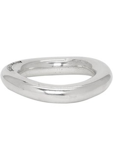 Ann Demeulemeester Silver Simple Ring