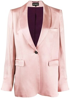 Ann Demeulemeester single breasted blazer