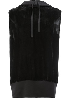 Ann Demeulemeester sleeveless hoodie