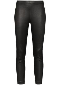 Ann Demeulemeester Slim Leg Leather Leggings