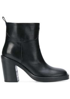 Ann Demeulemeester slip-on heel ankle boots