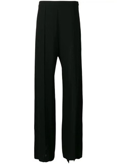 Ann Demeulemeester slit detail palazzo trousers