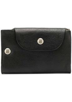 Ann Demeulemeester snap button wallet