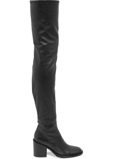 Ann Demeulemeester Stretch-leather Thigh Boots