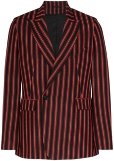 Ann Demeulemeester striped double-breasted blazer